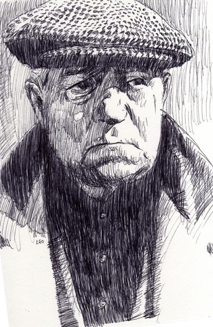 Jean Gabin par leopeintre